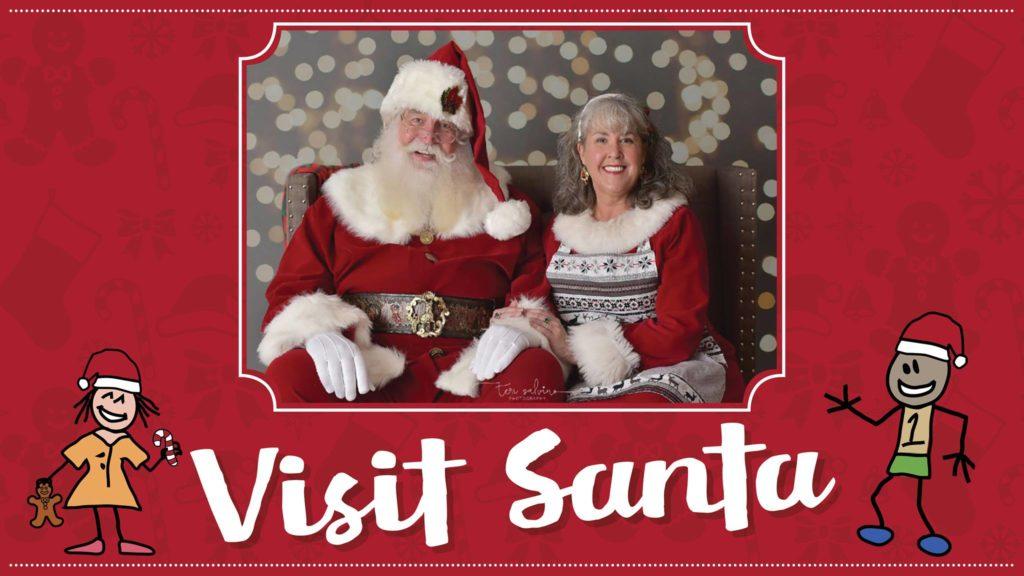 Visit with Santa and Mrs. Claus at Kids Teeth